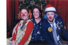 Chantelle and the Clowns at Christmas