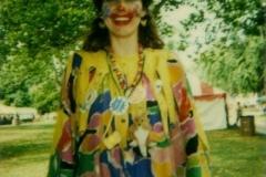 Trixie at Ribfest, 2000